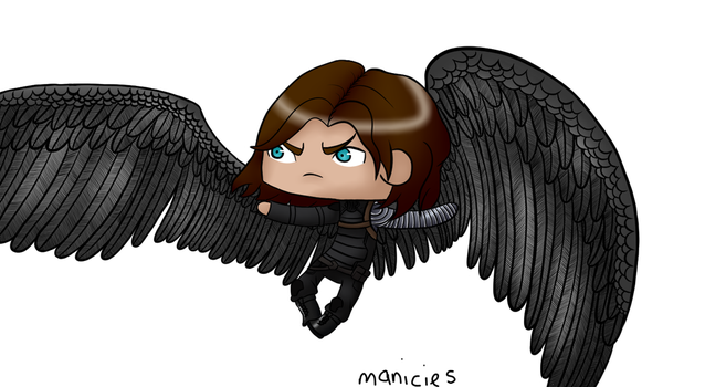 The Winged-er Soldier by Manicies