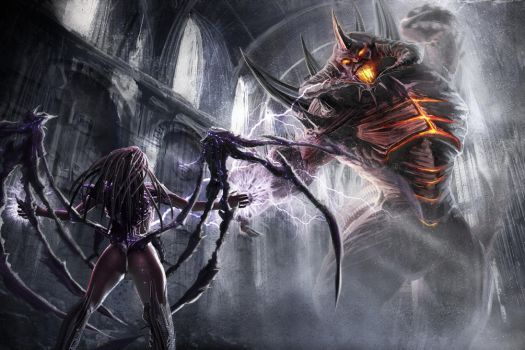 Queen of Blades Vs Lord of Terror by ExNihils