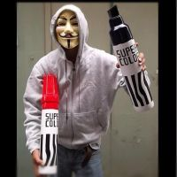 Anonymous :3 Super Color by OpGraffiti