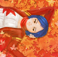 Autumn Chillaxing by LadyOfSodas