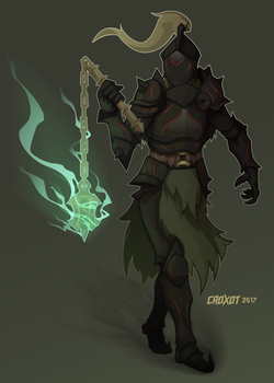 Commission - Morgant by Croxot
