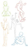 Poses 1 by 4nto