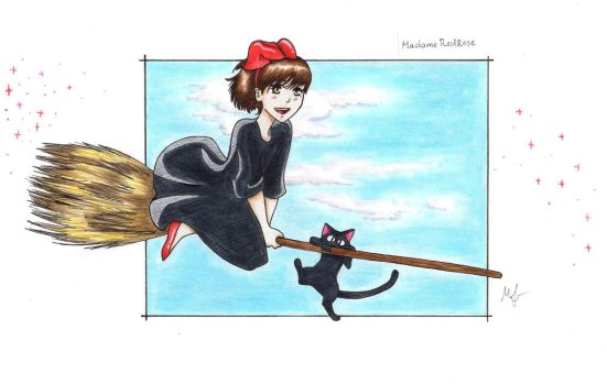 Kiki's Delivery Service by MadameRedRose