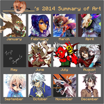 2014 Summary Of Art by Nishipu