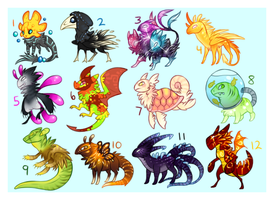 Design Adopts (CLOSED) by crabbii
