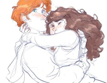 Ronmione by trustahope