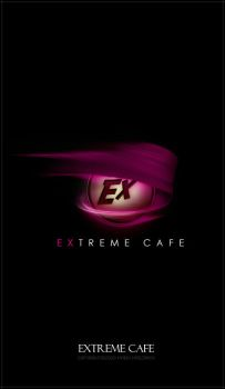 Extreme Cafe Logo by puler