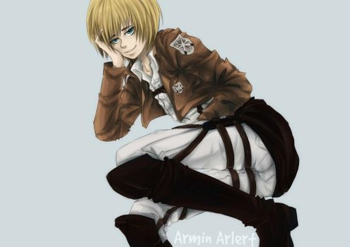 Armin by InsanitylittleRed