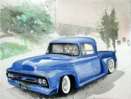 Old Ford by WhyteKnyte