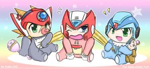 MMX - Baby Hunters by KarinEXE
