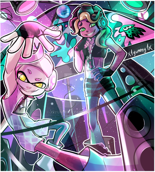 Marina and Pearl by X1yummy1X