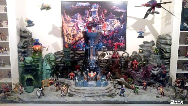 Eternia diorama finished by MikeBock