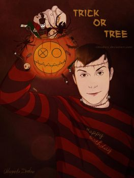 Trick Or Tree by ribkaDory