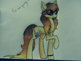 Me as pony :3 by LShine