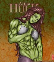 Commission: She Hulk by youtatenshi