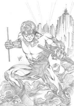 Nightwing by CaioMarcus-ART