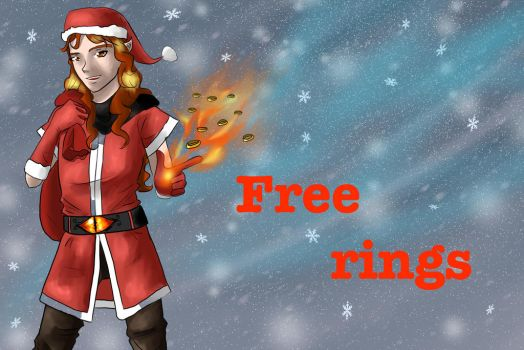 Santa-Sauron by Rina-from-Shire
