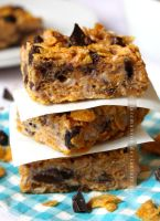 Choco Chunk Cornflake Treats by claremanson