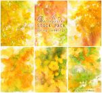 Spring Greetings - WATERCOLOR STOCK PACK by AuroraWienhold