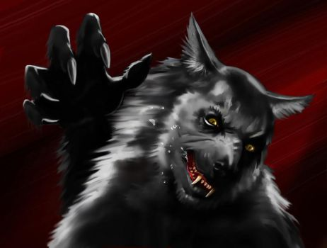 Werewolf Attack (Or Who Let The Dog Out?) by LJ-Phillips