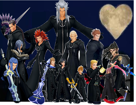 Org XIII. (including Xion) by Dumbo-Darkness32