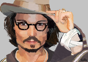 Johnny Depp by gilly15