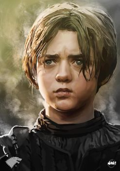 Arya Stark by Paganflow