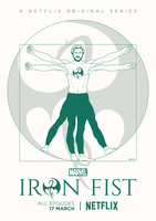 IRON FIST Poster Art by RicoJrCreation
