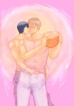 Hanamiya and Kiyoshi by RhodeMary