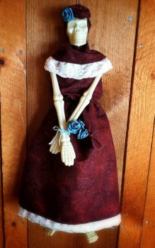 Day of the Dead Doll by IdolRebel