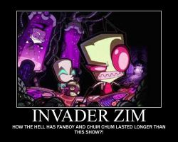 Invader zim by IZfan4eva