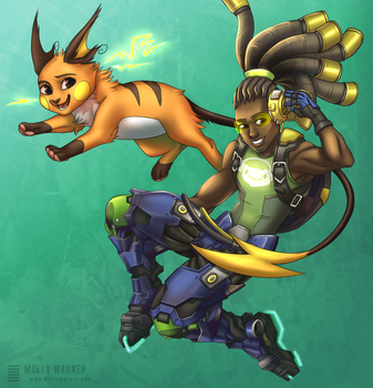 Lucio and Raichu by SilverSkittle
