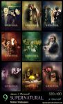 SPN - Season 9 Moments (Mobile Wallpapers) by lilyanjudyth