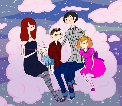 AT: family by eclair-chan