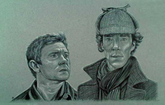 Sherlock and Dr. Watson w/ Video by Sofera