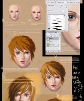 Portrait Painting Tutorial by acidlullaby
