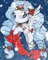 Christmas Pony By Chibivi 2sm by DeadDog2007