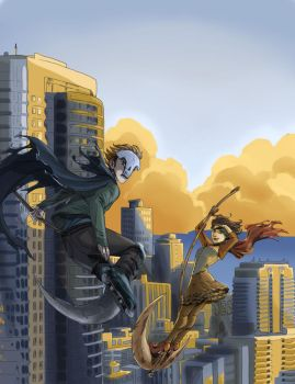 Reapers in the Skyline by iesnoth