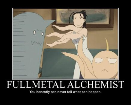 Fullmetal Alchemist: You can never tell... by EmoxCursexGrl92
