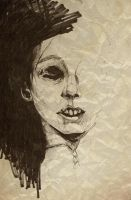 The Corpse Lady by SketchbookNoir