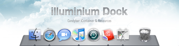 Illuminium Dock for Mac by balderoine