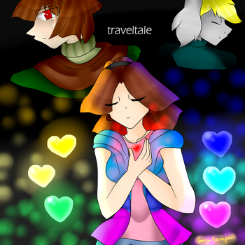 traveltale AU by gery23555