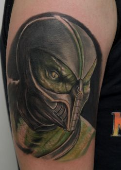 Reptile tattoo by graynd