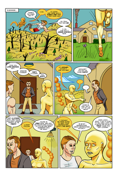 The Ripper Effect: Issue No. 2, Page 14 by EvilFishmonger
