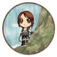 Tomb Raider: Chibi Lara by Nacrym