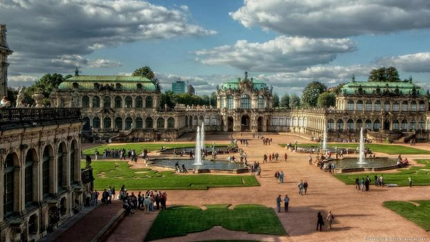 Dresden Zwinger I by pingallery