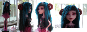 Monster High: Ooak OC041412 by TifaTofu