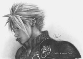 .: Cloud Strife :. by akakaaykay