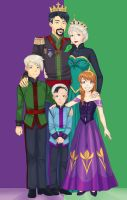 Royal family 14 years later by LinART