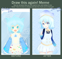 before and after by Sorairo-Arashi